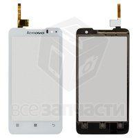 Тачскрин (сенсор) для мобильного телефона Lenovo P770, белый - Parts4Tablet в Харькове
