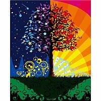 Картины по номерам/обложка. Дерево счастья. 40*50
