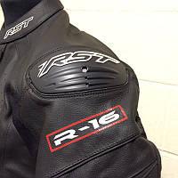 Кожаная мотокуртка RST 1068 R-16 M LTHR JKT, Black (50), фото 1