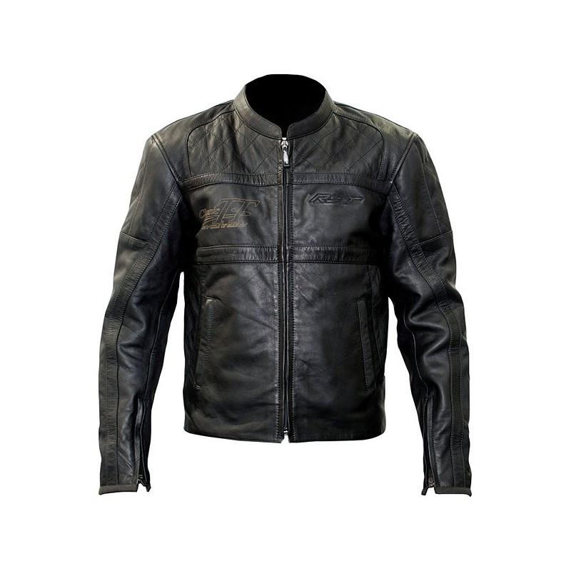 Шкіряна мотокуртка RST 1161 CLASSIC TT RETRO M LTHR JKT Black (50)