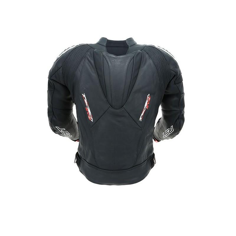 Кожаная мотокуртка RST 1425 Tractech Evo 2, черная (48)