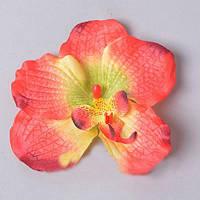 Головка орхидеи коралловая 10см Цветы искусственные