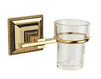Stilars 141809 стаканчик для зубных щеток стекло (серебро)