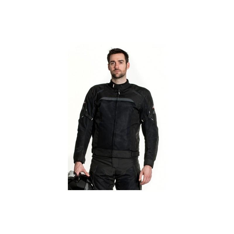 Мотокуртка текстильная RST VENTEK II 1495, Black (52)