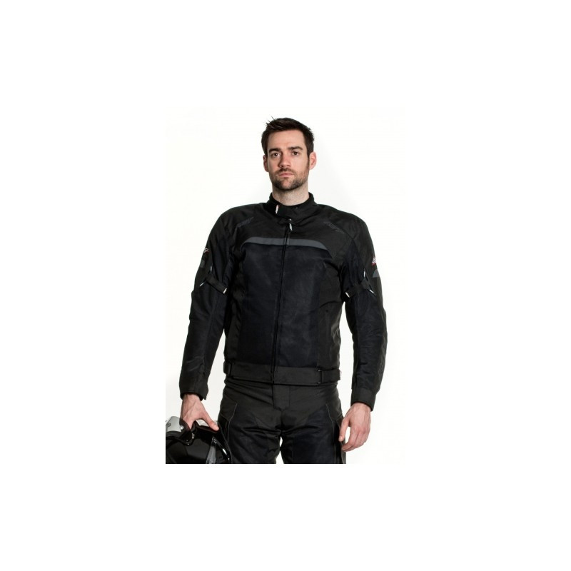 Мотокуртка текстильная RST VENTEK II 1495, Black (54)