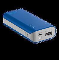 Портативная зарядка с портом usb Trust Primo Power Bank 4400 мАч blue