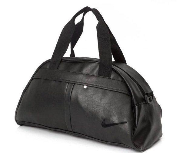 8275f5e2b009 Спортивная сумка в стиле Nike черная экокожа: продажа, цена в ...