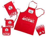 Кухонный текстильный набор 6 предм. Vinzer 89500