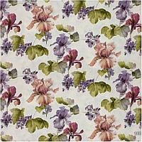Ткань для штор цветы