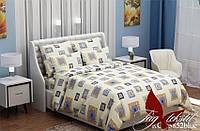 Постель классика. 1,5-спальный комплект постельного белья. Ткань Ранфорс. Комплект постельного белья.