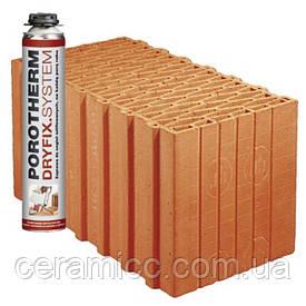 Керамический блок Porotherm 44 Dryfix