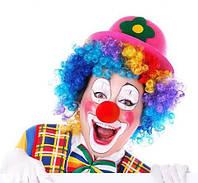 Парик клоуна кучерявый