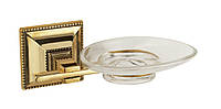 Stilars мыльница стекло ( серебро)