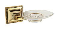 Stilars 141808 мыльница стекло ( серебро)