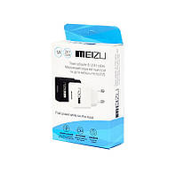 Сетевая зарядка СЗУ Meizu 1A Адаптер с USB кабелем MicroUSB (БЕЛЫЙ)