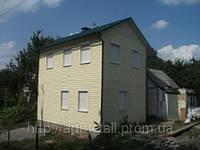Строительство каркасной дачи, домик на дачный участок, заказать дачный дом