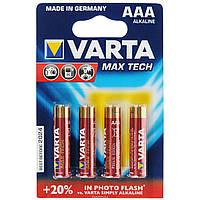 Батарейка Varta Max Tech ААА R3 Алкалиновые мощные!