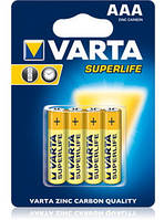 Батарейка Varta Superlife AAA R3 солевые!