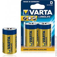Батарейка D R20 Varta Long Life 1,5V Алкалиновая