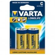 Батарейка LR14Varta Long Life 1.5V Алкалиновая!!!