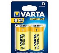 Батарейка Varta Superlife R20 D 1.5V солевая