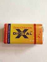 Батарейка крона Digital 9V(6f22) солевая