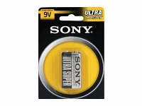 Батарейка крона Sony 9V 6f22 солевая