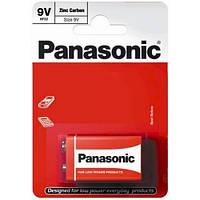Батарейка крона Panasonic 9V 6f22 солевая