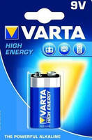 Батарейка крона Varta High Energy 9V 6f22 Алкалиновая