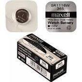 Батарейка Час.1116 Maxell 365