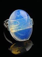 Перстень с лунным камнем (18, 19, 20 размер) от студии LadyStyle.Biz, фото 1