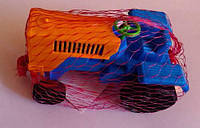 "Машина ""Денни мини трактор №6"", в сетке 10*6см, ТМ BAMSIC, произ"