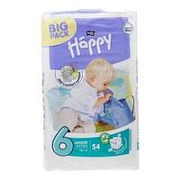 Подгузники Bella Happy Junior 6 (от 16 кг.) BIG PACK (54 шт.)