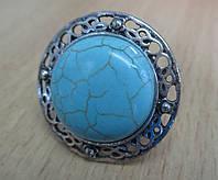 """Перстень из бирюзы """"Греция"""" от Студии  www.LadyStyle.Biz"""
