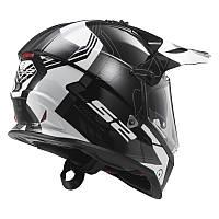 Эндуро шлем LS2 PIONEER MX436 TRIGGER Black Titanium (XXL)