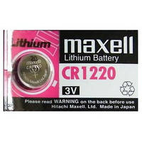 Батарейка литиевая Maxell CR 1220