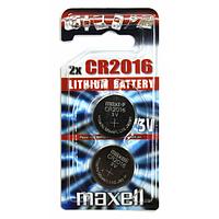 Батарейка литиевая Maxell CR 2016 (2 шт.)