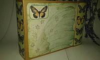 Альбом  скрапбукинг Бабочки