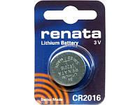 Батарейка литиевая Renata CR 2016