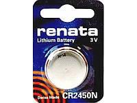 Батарейка литиевая Renata CR 2450N