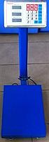 Весы торговые электронные ACS 150 KG FOLD 30*40 усиленная стойка, металлическая голова!Хит
