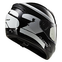 Мотошлем LS2 FF352 ROOKIE FLUO Black White (L)