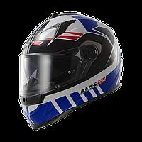 Шлем LS2 FF322 VOLTAGE WHITE BLUE (XL)