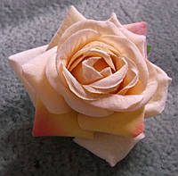 Красивая чайная роза брошь-заколка от студии LadyStyle.Biz, фото 1