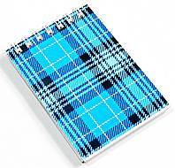Блокнот А7 48 л., кл., спираль сверху карт.обл.РЕВЕРС БА748-152
