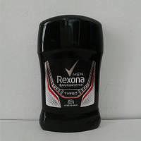 Твердый мужской дезодорант антиперспирант Rexona (Рексона Турбо) 50 мл.