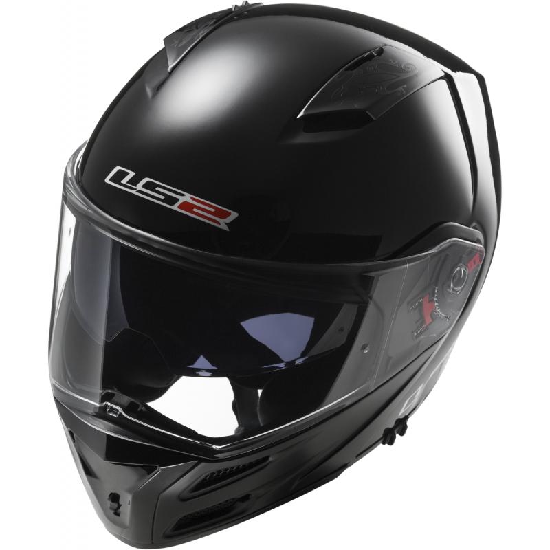 Шлем LS2 FF324 METRO SINGLE MONO GLOSS BLACK (XXL)