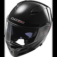 Шлем LS2 FF324 METRO SINGLE MONO GLOSS BLACK (XXL), фото 1
