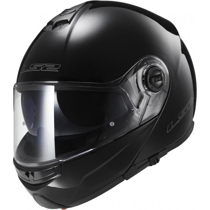 Шлем LS2 FF325 STROBE GLOSS BLACK (S)