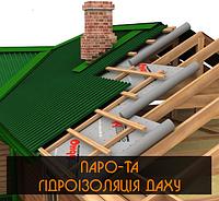 Паро- та гідроізоляція даху